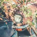 Abandoned Rusty Old Timer Automobile